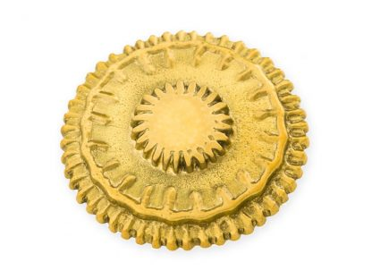 Lisa Jarvis Mercedes Knob in Brass