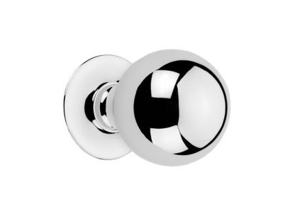 Traditional Ball Knob with Simple Circular Rosette