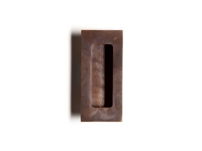 Frank Allart 2713 Single Concealled Screw mounted FLush rectangular Pull