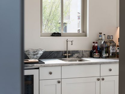 Waterstone Towson Hot and Cold Filtration Faucet Installed