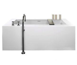 Cube Soaking Bathtub