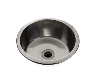 Waterworks Normandy Hammered Round Bar Sink