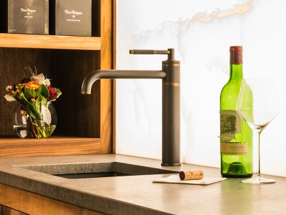 Waterworks Universal Faucet with Side Spray Install