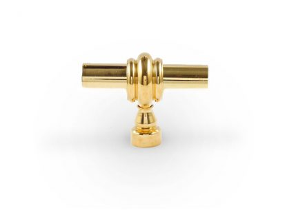 Classic Toggle Knob - 1/4 Solid Brass Rod