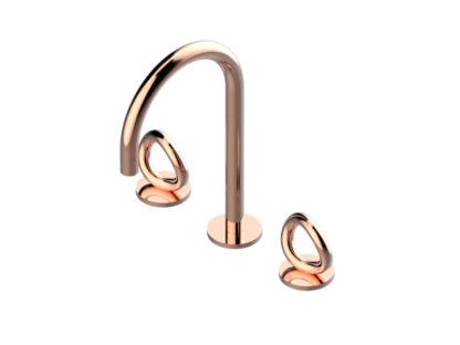 THG Paris Contemporary Collection O Widespread Faucet