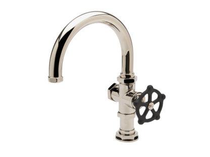 Waterworks Regulator One Hole Gooseneck Bar Faucet