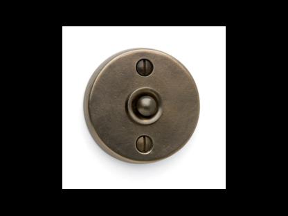 Sun Valley Bronze Round Contemporary Door Bell, door accessories, made in USA