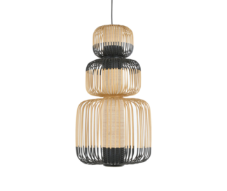 Global Lighting Bamboo 3 Light Pendant