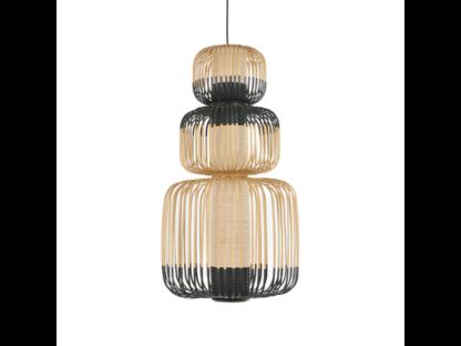 Global Lighting Bamboo 3 Light Pendant
