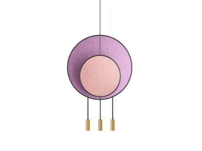 Estiluz Revolta Multi-Light Suspension - Acoustic Panel