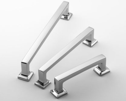 Classic Brass Founders Pull, solid brass hardware, made in USA