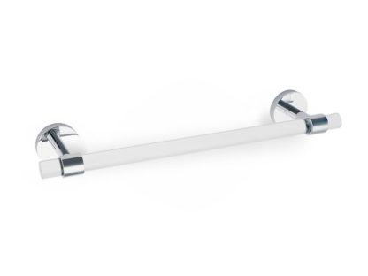 Acrylic Contemporary Towel Bar, Alno Acrylic Contemporary Towel Bar, Brass Bath Accessories
