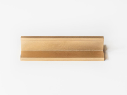 rectangular slot pull, finery by laura burton, finery, flush mount, flush mount cabinet hardware, made in usa